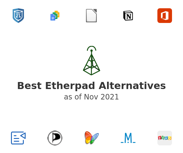 Best Etherpad Alternatives