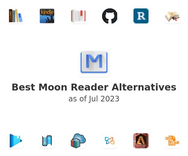 Best Moon Reader Alternatives