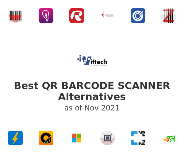 Best QR BARCODE SCANNER Alternatives