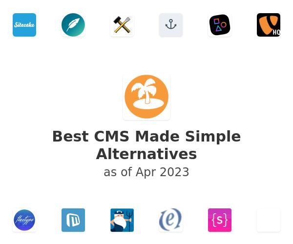 Best CMS Made Simple Alternatives