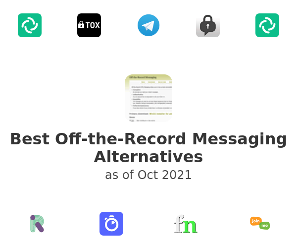 Best Off-the-Record Messaging Alternatives