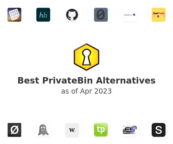 Best PrivateBin Alternatives