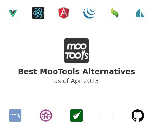 Best MooTools Alternatives