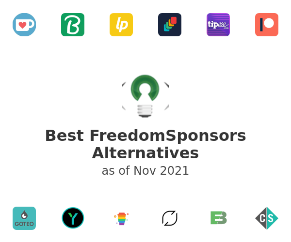 Best FreedomSponsors Alternatives