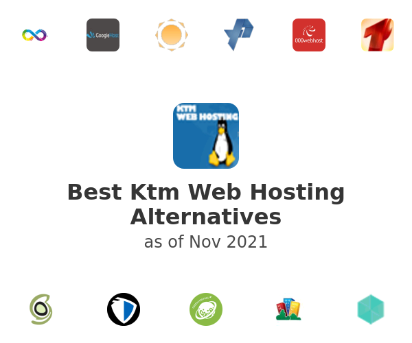 Best Ktm Web Hosting Alternatives