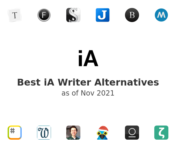 Best iA Writer Alternatives