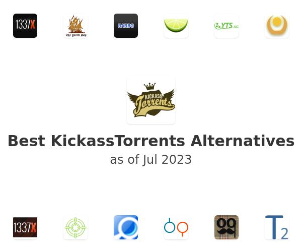 Best KickassTorrents Alternatives