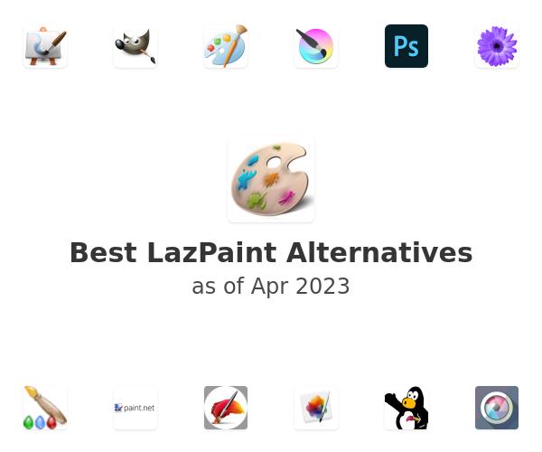 Best LazPaint Alternatives