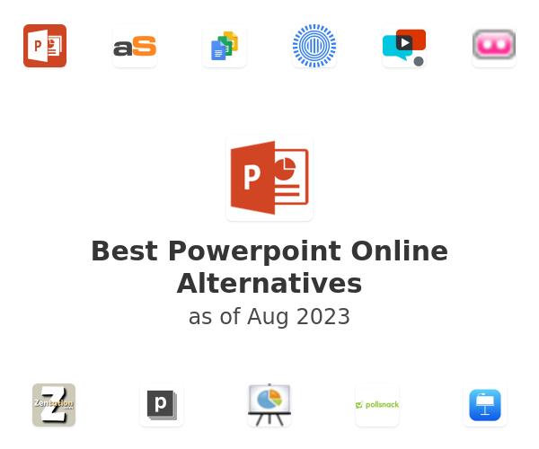 Best Powerpoint Online Alternatives