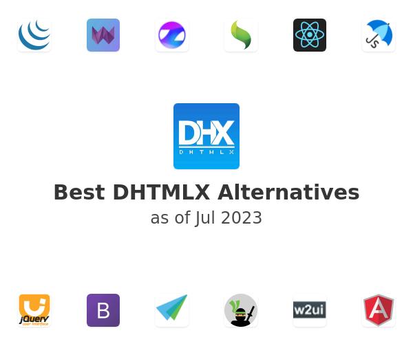Best DHTMLX Alternatives