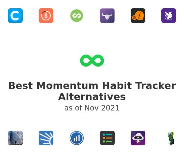 Best Momentum Habit Tracker Alternatives