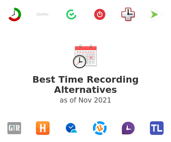 Best Time Recording Alternatives
