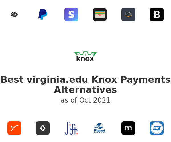 Best Knox Payments Alternatives