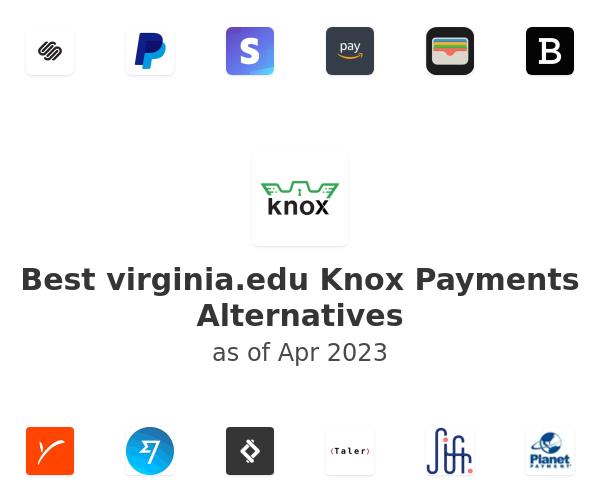 Best virginia.edu Knox Payments Alternatives