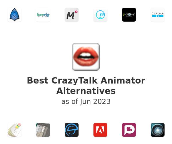 Best CrazyTalk Animator Alternatives