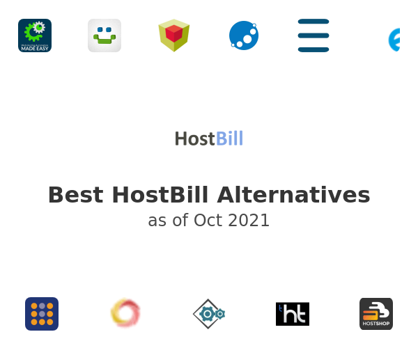 Best HostBill Alternatives