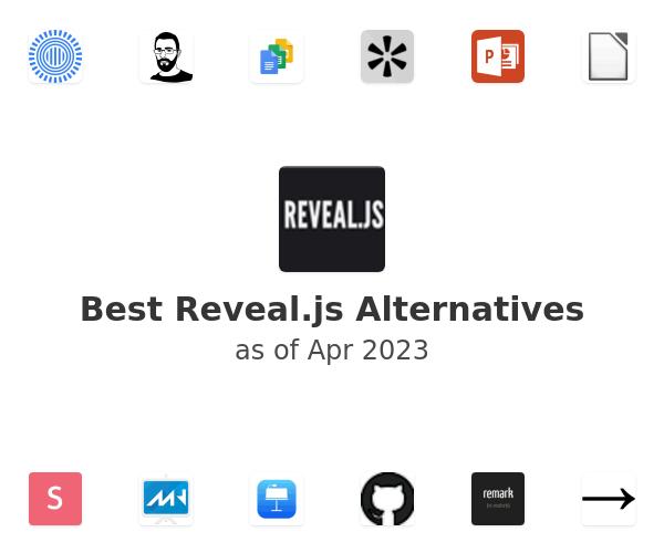 Best Reveal.js Alternatives