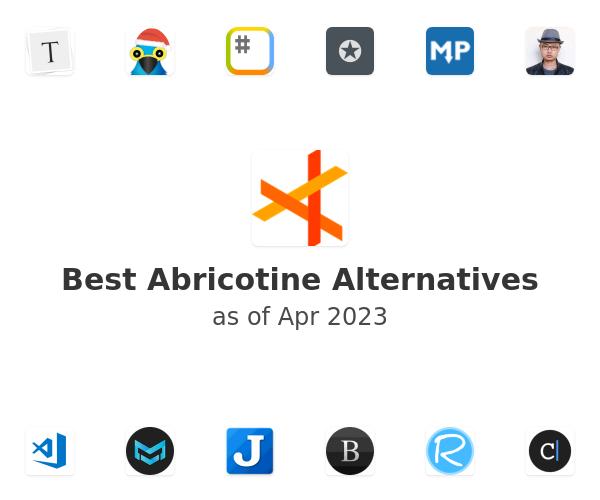 Best Abricotine Alternatives