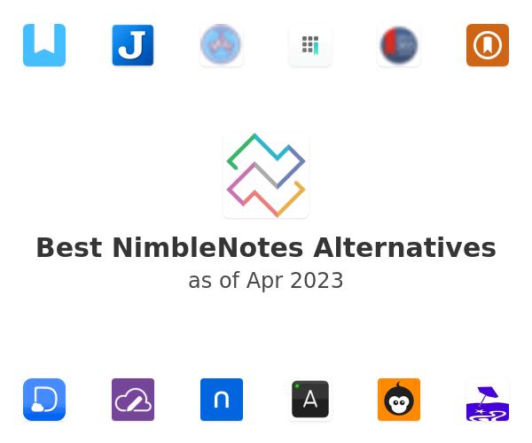 Best NimbleNotes Alternatives