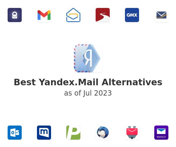 Best Yandex.Mail Alternatives