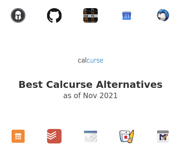 Best Calcurse Alternatives