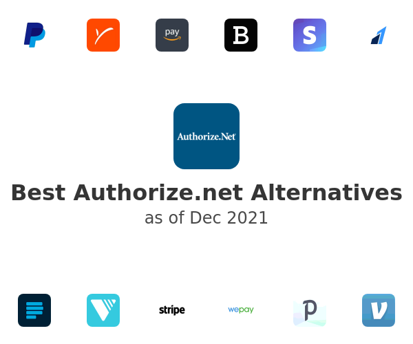 Best Authorize.net Alternatives