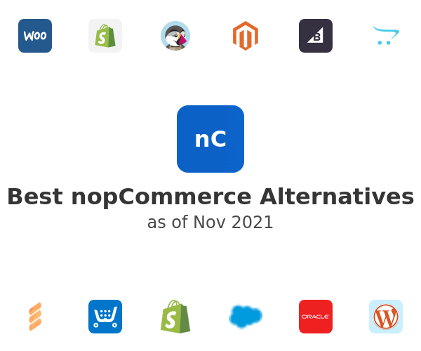 Best nopCommerce Alternatives