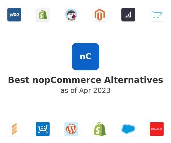 Best nopCommerce Alternatives