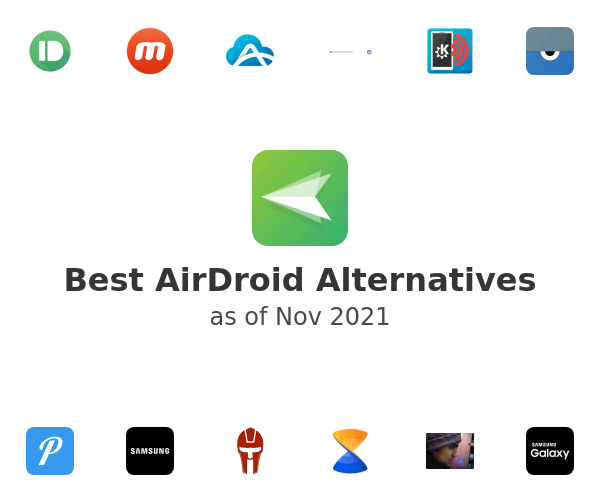 Best AirDroid Alternatives