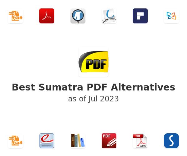 Best Sumatra PDF Alternatives