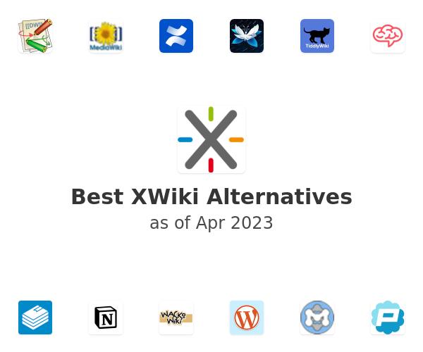 Best XWiki Alternatives
