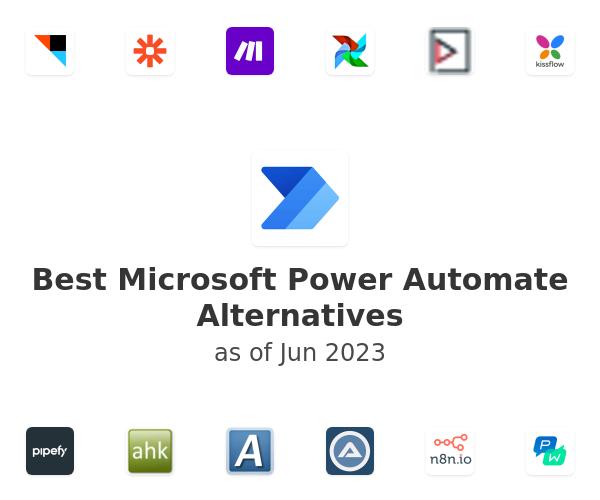 Best Microsoft Flow Alternatives