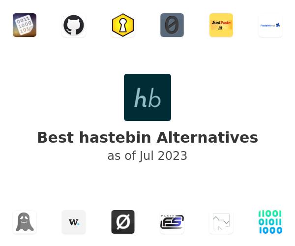 Best hastebin Alternatives