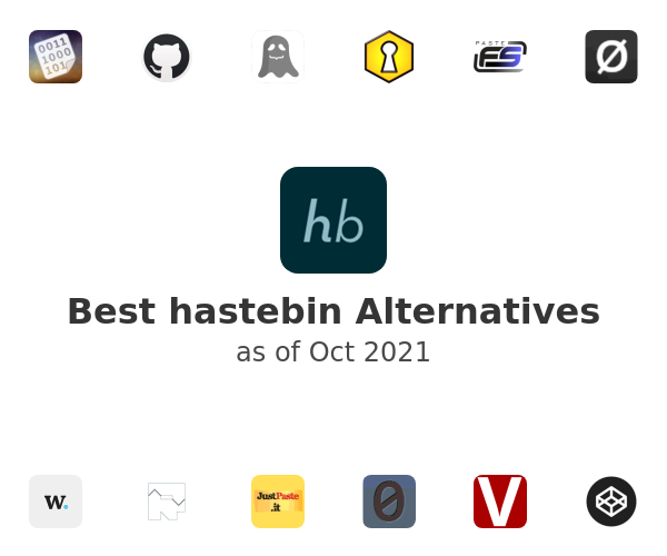 Best hastebin Alternatives