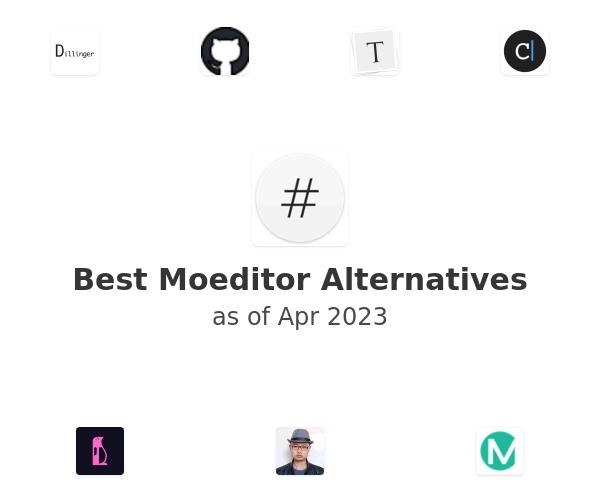 Best Moeditor Alternatives