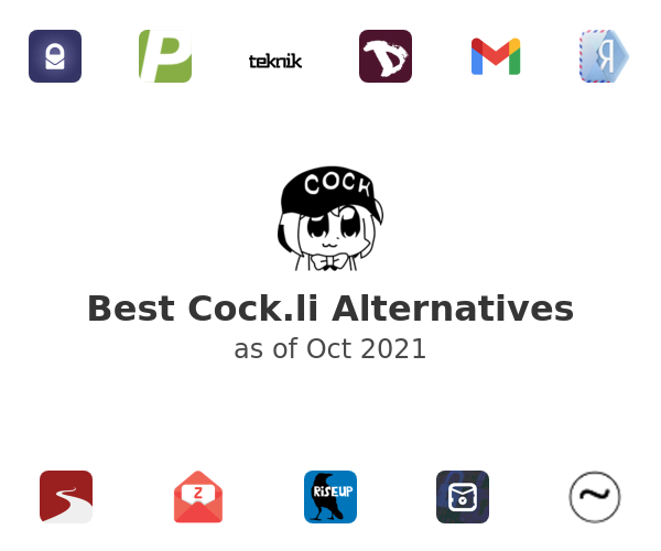 Best Cock.li Alternatives