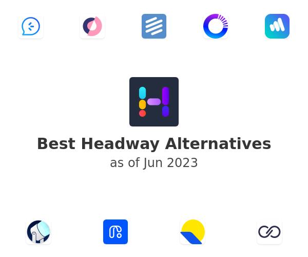 Best Headway Alternatives