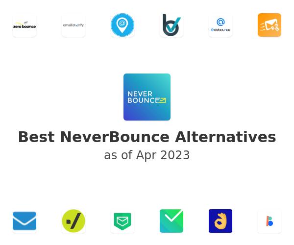 Best NeverBounce Alternatives