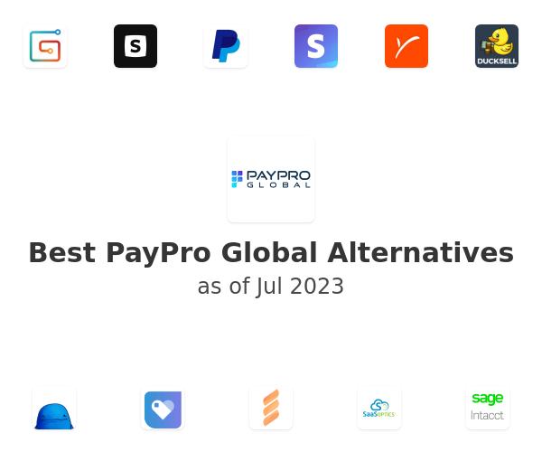 Best PayPro Global Alternatives