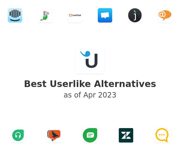 Best Userlike Live Chat Alternatives