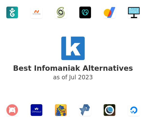 Best Infomaniak Alternatives