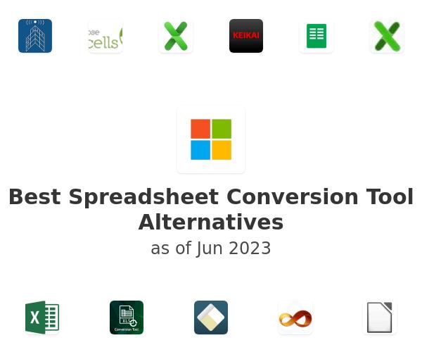 Best Spreadsheet Conversion Tool Alternatives