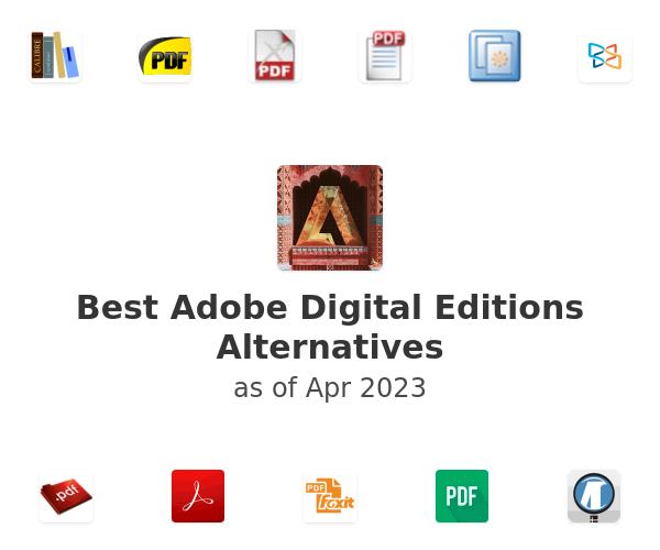 Best Adobe Digital Editions Alternatives