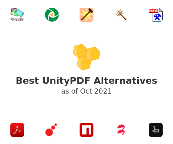 Best UnityPDF Alternatives