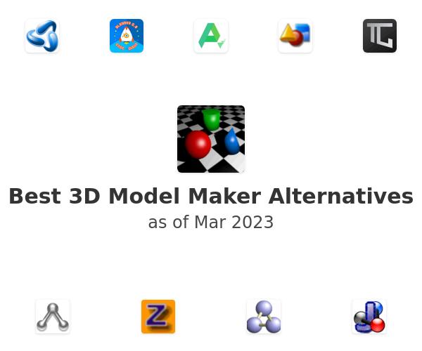 Best 3D Model Maker Alternatives