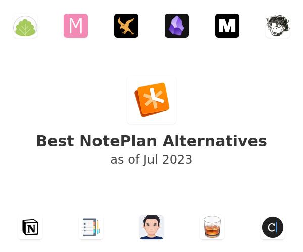 Best NotePlan Alternatives