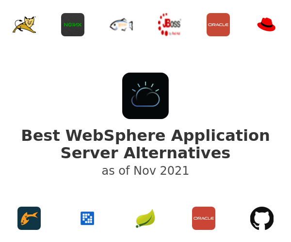 Best WebSphere Application Server Alternatives