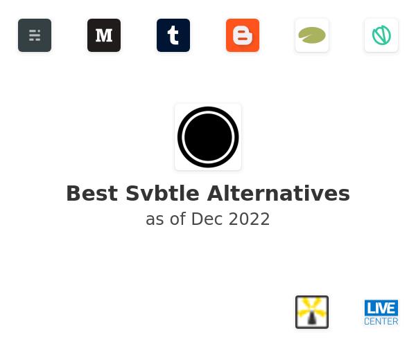 Best Svbtle Alternatives