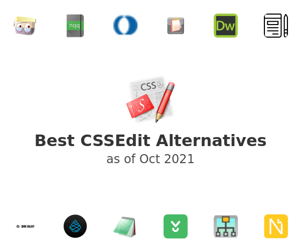 Best CSSEdit Alternatives