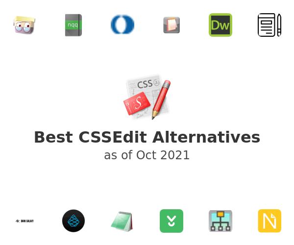 Best CSSEdit Alternatives